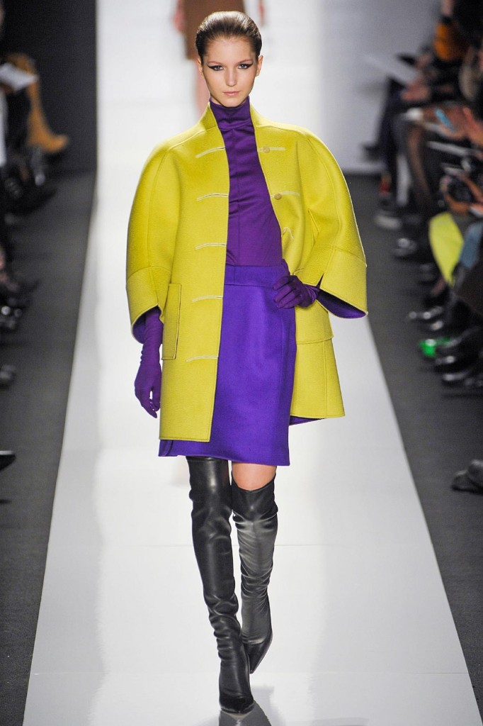 Ralph Rucci double cloth coat.