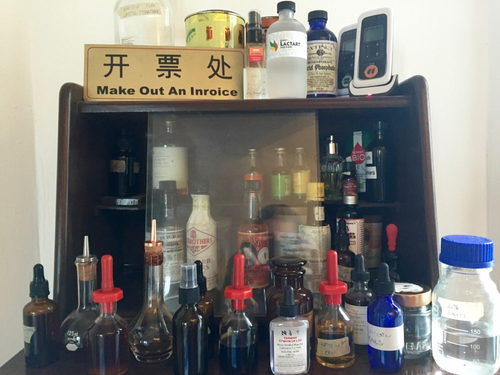 Bitters, tinctures, acids and oils - My Modernist Cocktail Home Bar - The Mood Therapist, Rich McDonough
