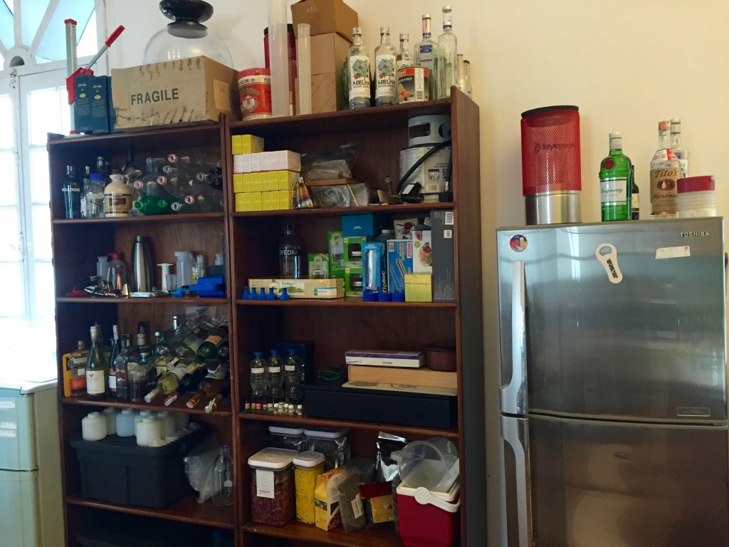 My Modernist Cocktail Home Bar - The Mood Therapist, Rich McDonough