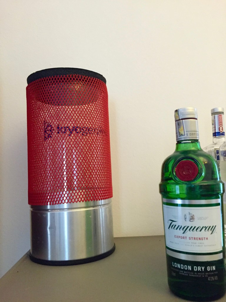 Kryogenifex Liquid Nitrogen Dewar - My modernist cocktail home bar - the Mood Therapist, Rich McDonough