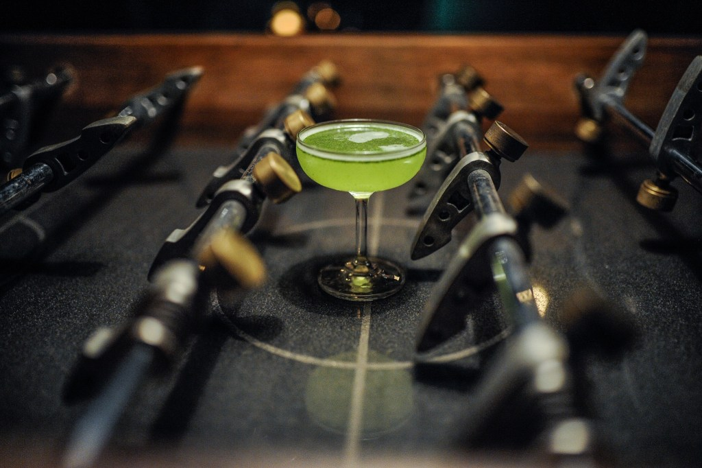 Vietnamese Basil Daiquiri Cocktail by the Mood Therapist