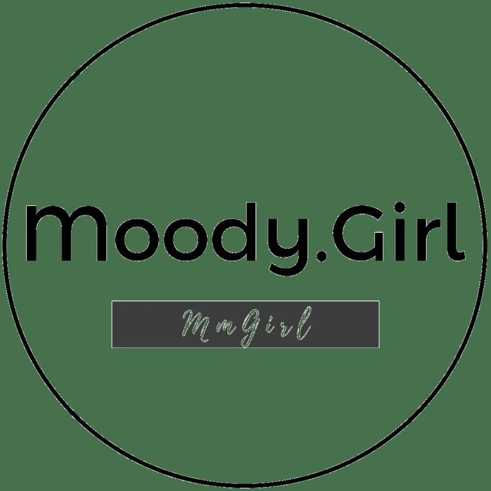 transparent black moodygirl logo