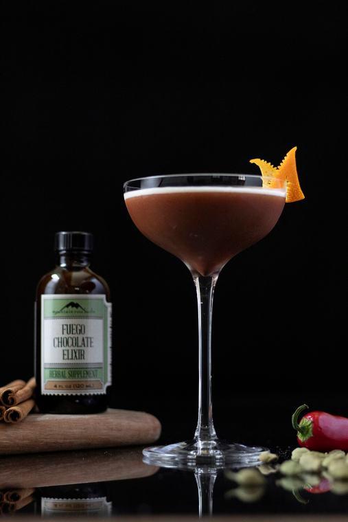 Fuego Chocolate Espresso Martini – An Adaptogenic Cocktail