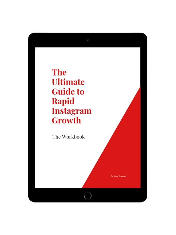 ultimate guide to instagram rapid growth workbook