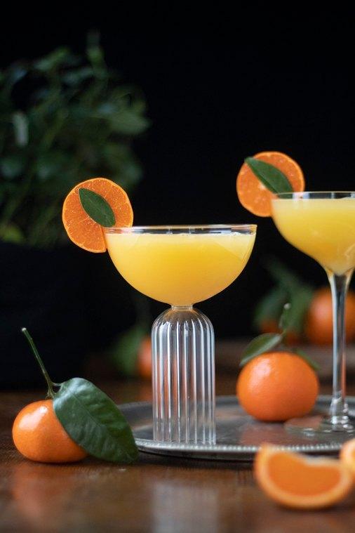 Mandarin Ginger Gin Sour