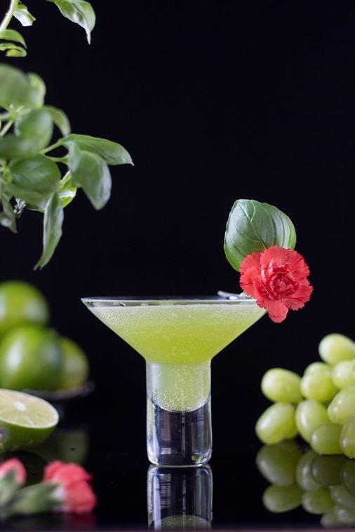 Basil Lime Smash Mocktail