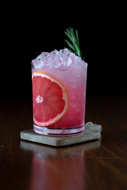 Grapefruit & Pomegranate Vodka Sour