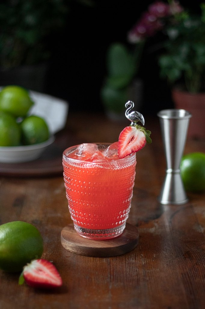 fresh strawberry margaritas recipe