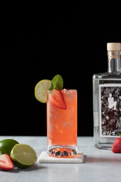 Strawberry Paloma (An Easy Tequila Cocktail)