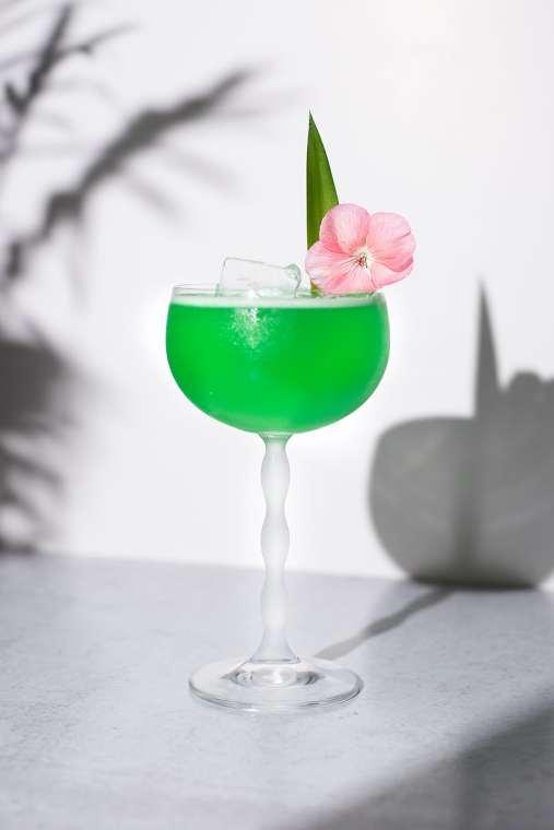 Tropical Pineapple Turmeric Margarita