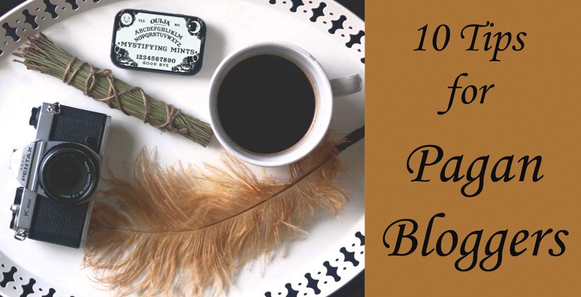 start a pagan wiccan blog