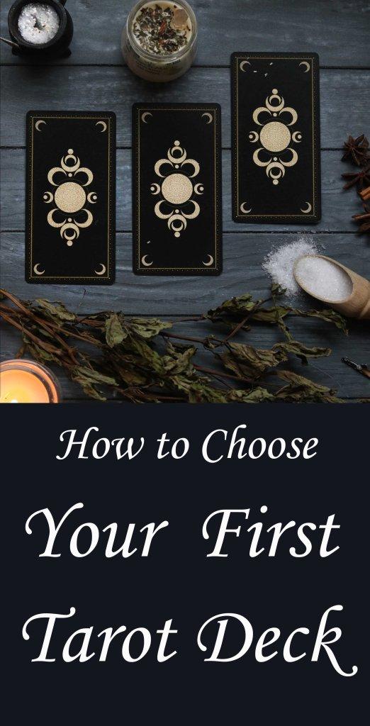 Tips for choosing a tarot deck.