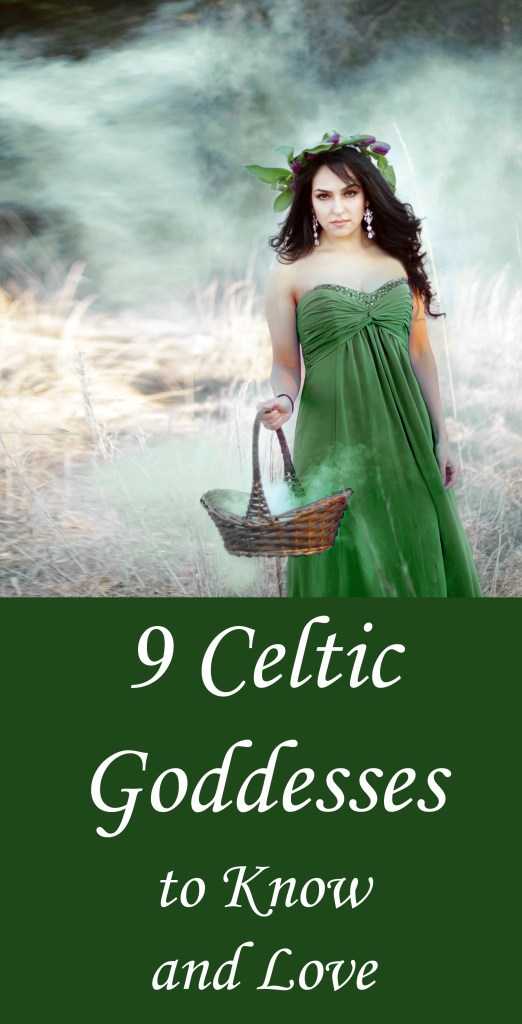 9 Celtic goddesses to know and love.  Whether you're just getting started on your journey through Celtic witchcraft, or you know the whole pantheon by heart, these 9 goddesses make for fascinating study!