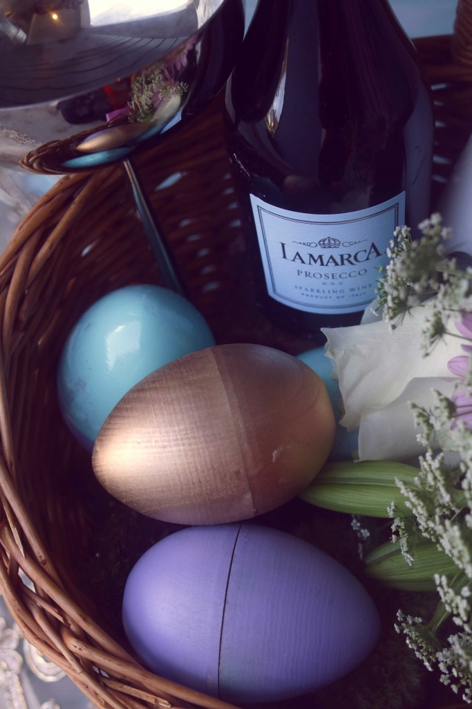 Putting together a magical Ostara basket for my witchy friend.