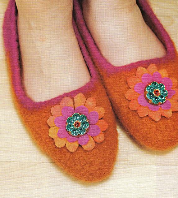 Sizing Knitting Slippers