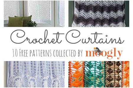 Crochet Curtain Valance Pattern Nakedsnakepress