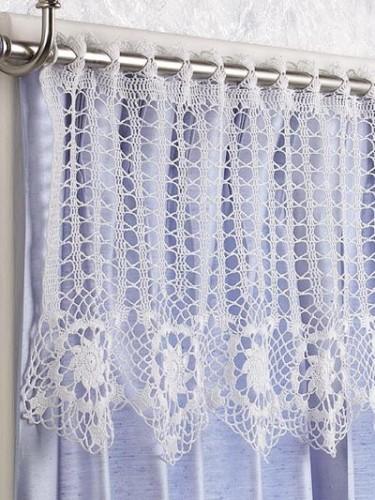 Free Crochet Curtain Patterns On Moogly