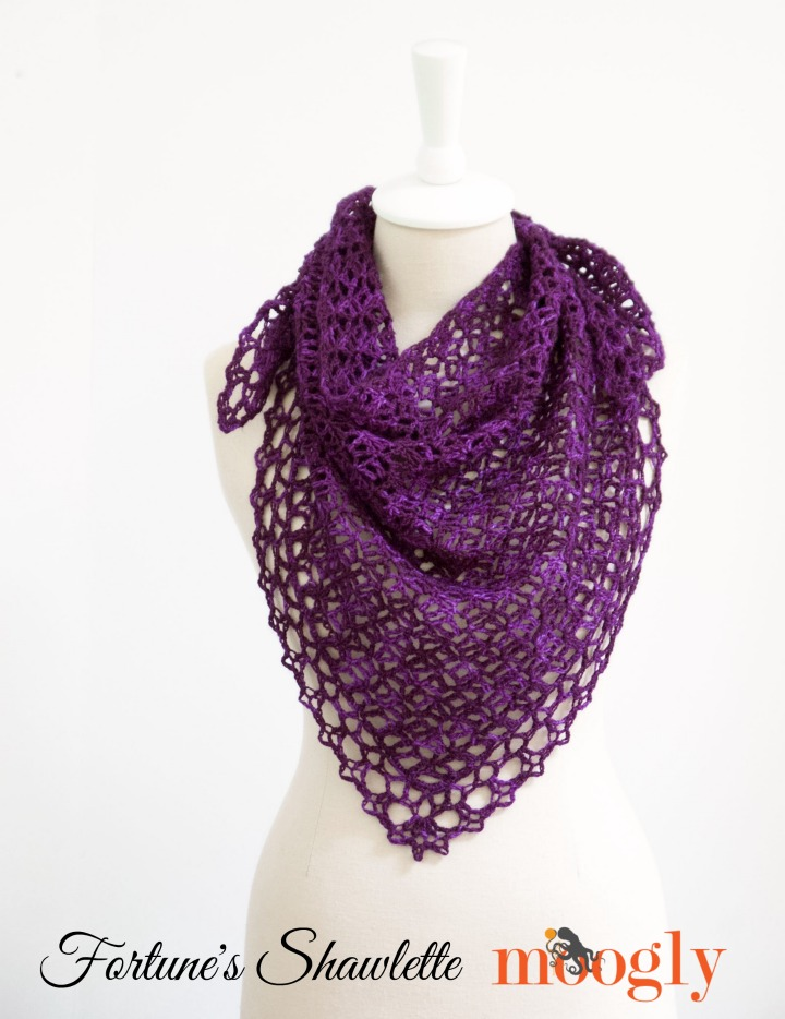 moogly Fortune's shawlette