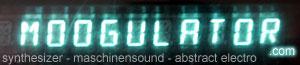moogulator network - banner synthesizer + electronic music