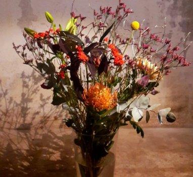 BinnenkortWorkshop Flower basics, the english edition.