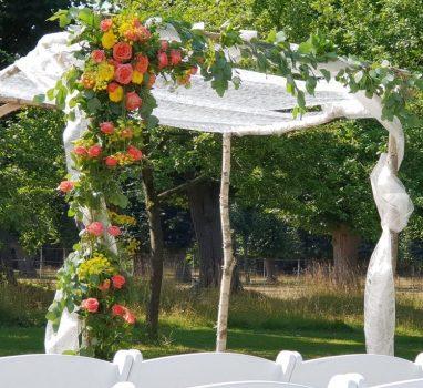 Specialiteiten in het bruidsmenu