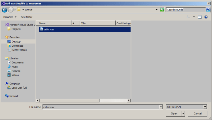 WPF C# Tutorial – Playing Audio Files with Sound Player and