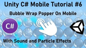 feature image for the bubble wrap popper app made in unity
