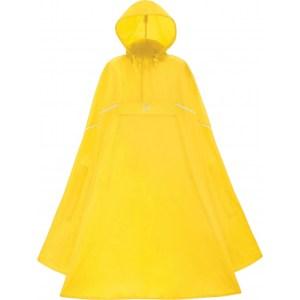 Lichtgewicht poncho geel
