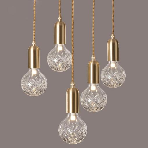 Crystal Bulb LED Pendant Lamp