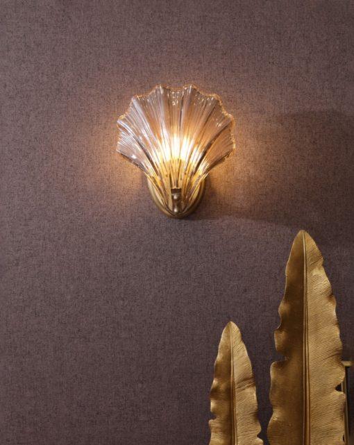 shell wall light