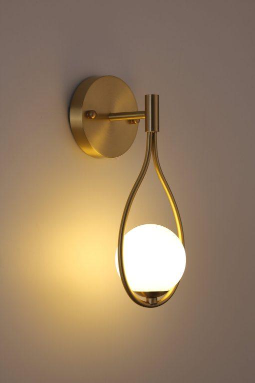 Brass Vanity Wall Lamp