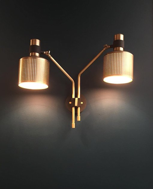 Riddle Wall Light