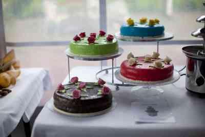 bruidstaart taarten trouwen bruiloft trouwdag feest