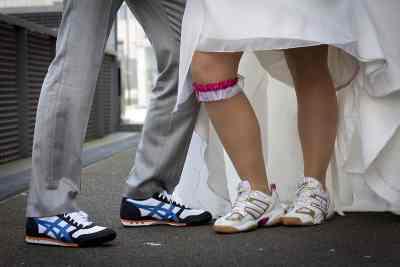 trouwschoenen voorbeeld bruidsfotografie trouwen trouwdag