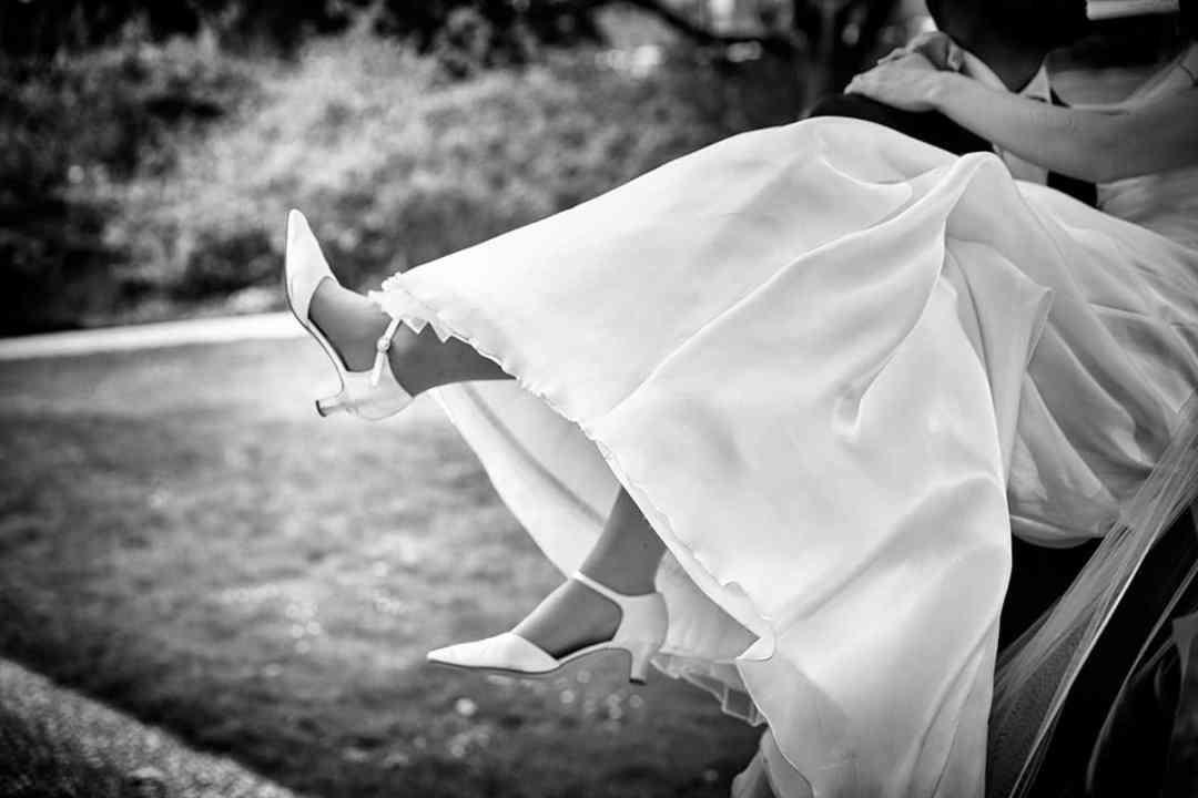 trouwschoen bruid