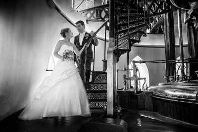 trouwen Museum De Cruquius gemaal gemeente Haarlemmermeer trouwfoto bruidsfotograaf huwelijk trouwreportage