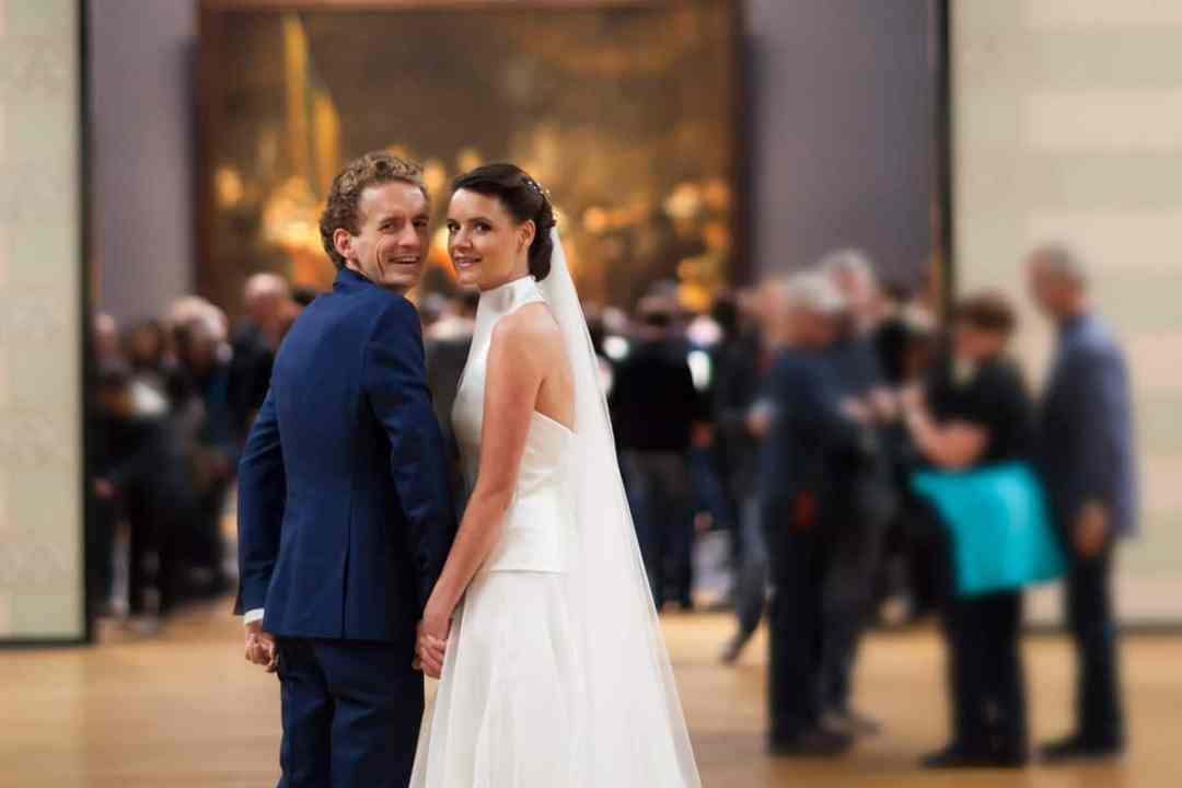 bruidsfotografie museum Amsterdam