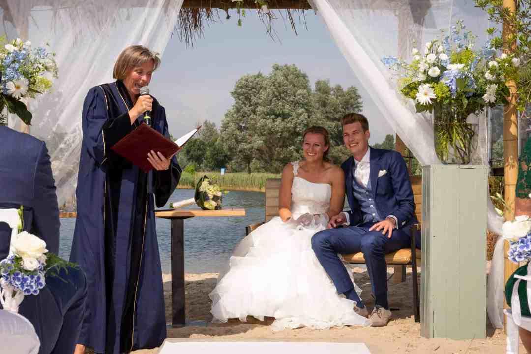 trouwen villa westend