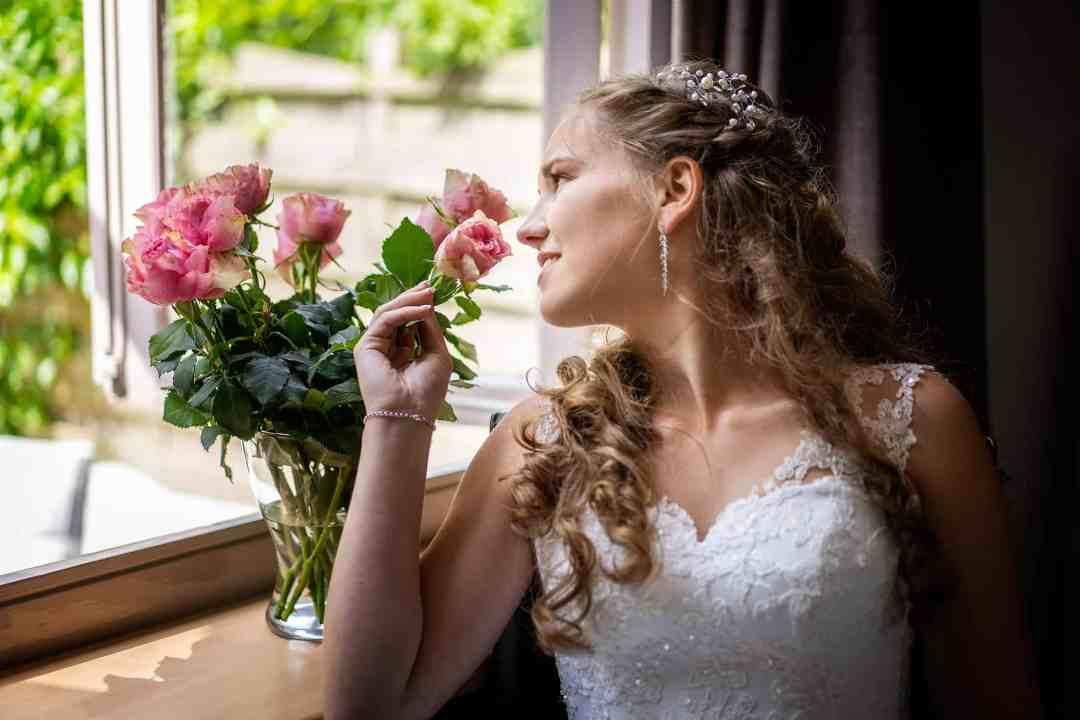 Fotosessie met de bruid