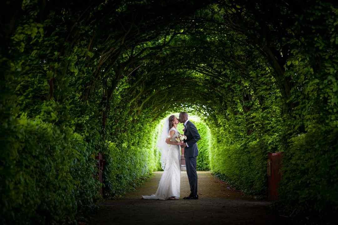 Fotograaf bruidsfotografie trouwen kasteel Muiderslot