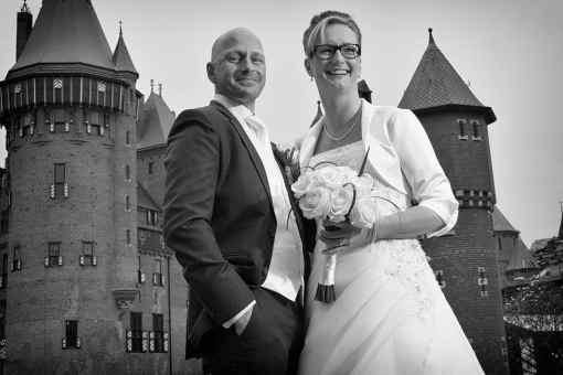 bruidsfotografie kasteel De Haar