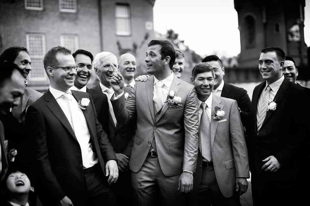 bruidsfotografie bruidegom