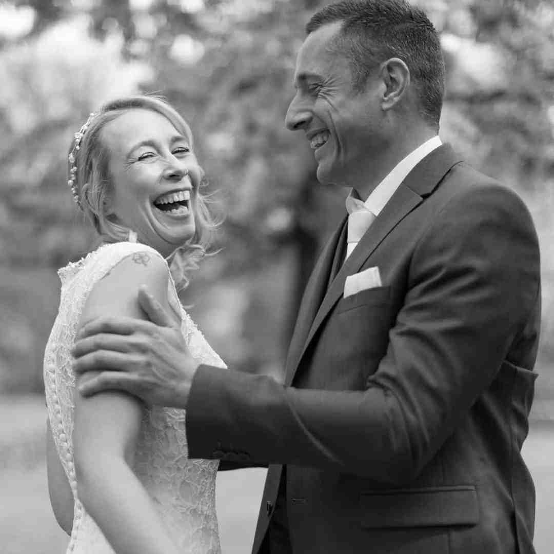 reactie bruidspaar fotograaf Rotterdam