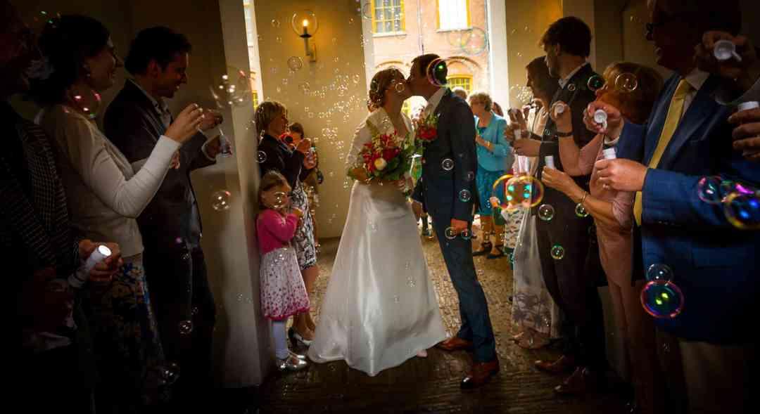 fotograaf stadhuis Haarlem trouwfoto