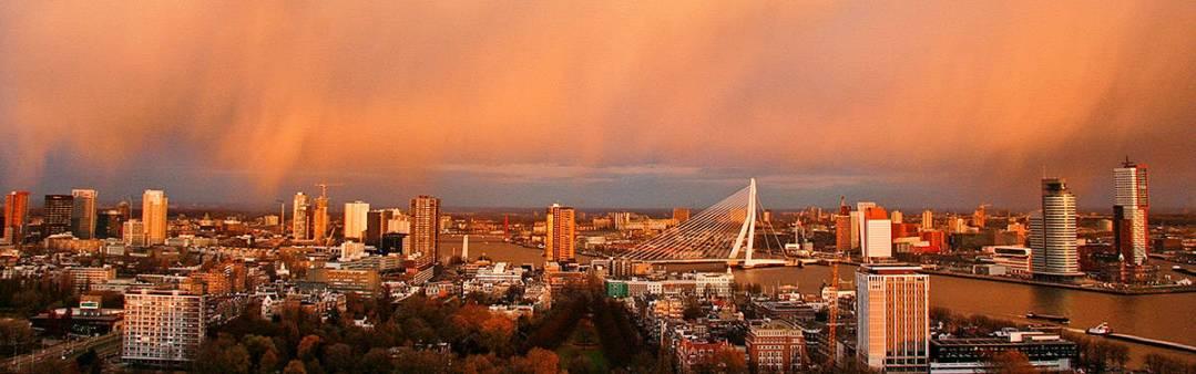 skyline Rotterdam trouwfotograaf