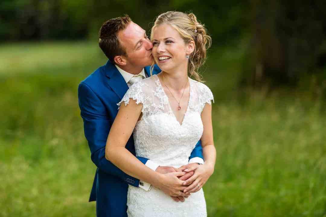 Huize Frankendael trouwen bruidspaar