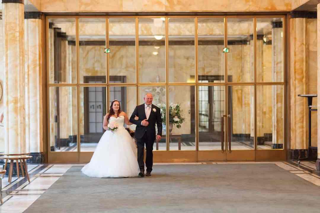 bruidsfotografie stadhuis Leiden