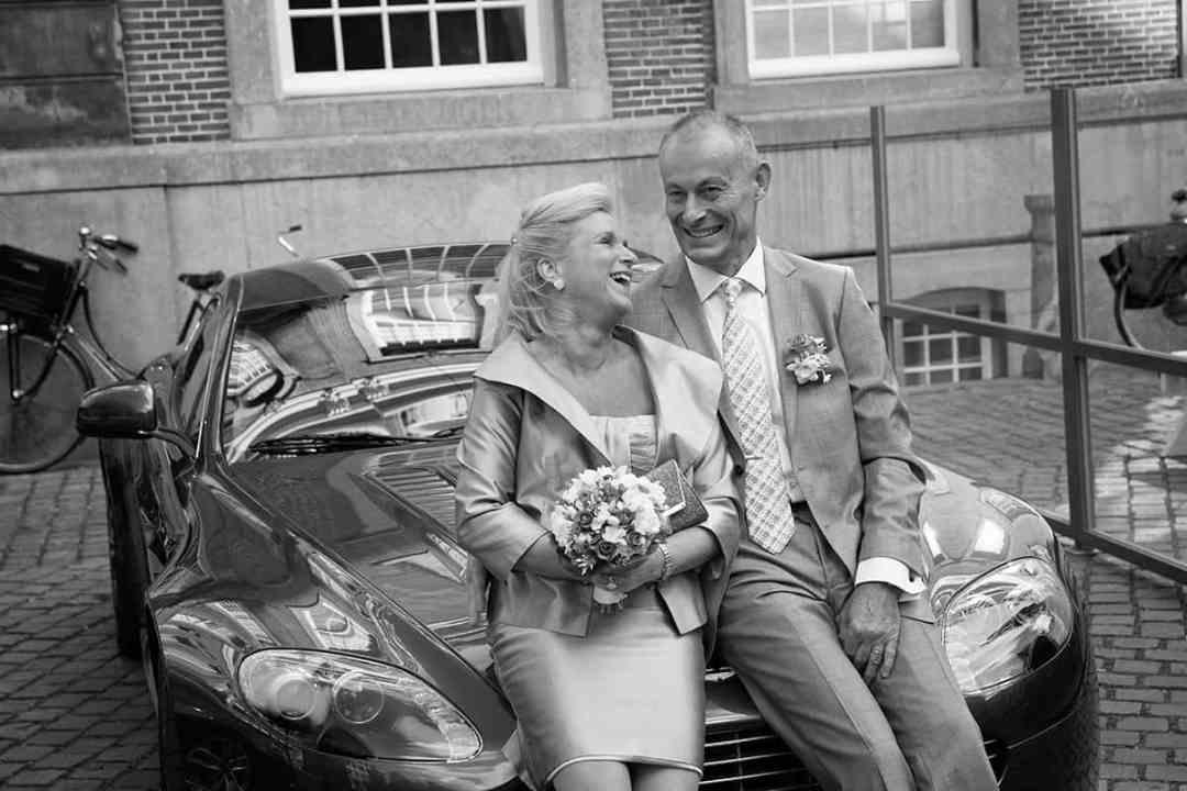 Fotoshoot op de trouwdag