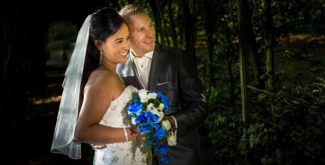 Hoelang duurt de fotoshoot op de trouwdag?