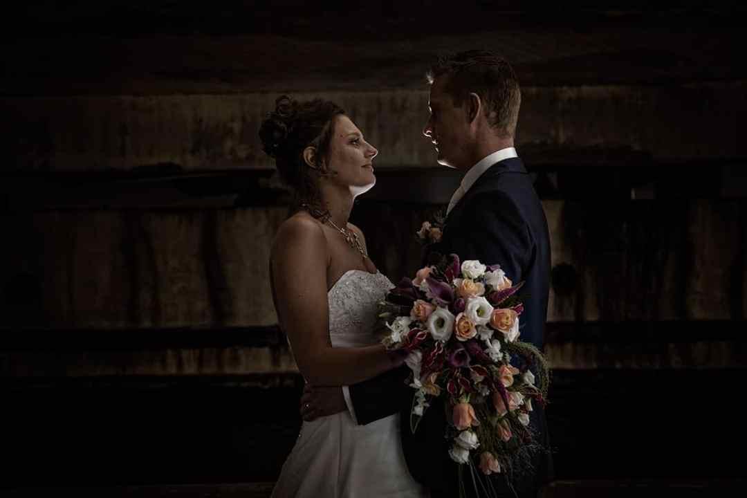 bruidspaar fotoshoot